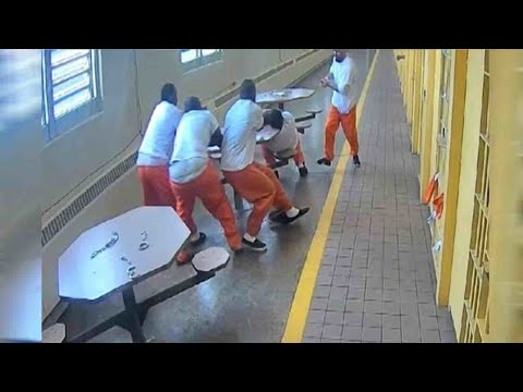 Men Stabbed By Fellow Inmate While Handcuffed Sue Officers