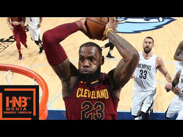 Cleveland Cavaliers vs Memphis Grizzlies Full Game Highlights / Feb 23 / 2017-18 NBA Season