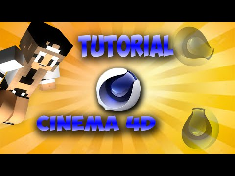 |Tutorial Cinema 4D --Come Fare Un Personaggio Di Minecraft-- |