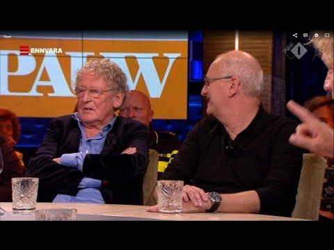 Pieter Verhoeff boos op Pauw