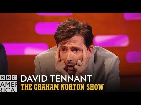David Tennant Watches His FirstEver Acting Role  The Graham Norton