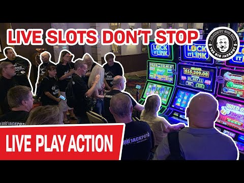 🔴 Still LIVE At A REAL CASINO 🔥 LIVE Slots Don't STOP
