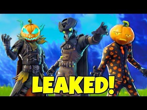 10 LEAKED Fortnite Season 6 SKINS & Emotes Coming Soon! (Halloween)