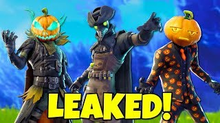 10 LEAKED Fortnite Season 6 SKINS & Emotes Coming Soon! (Halloween)