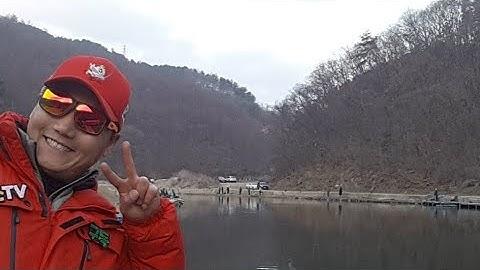 2020년 서울근교 화도낚시공원에서 송어 100마리잡기 도전합니다.