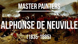 Alphonse de Neuville (1835-1885) A collection of paintings 4K Ultra HD