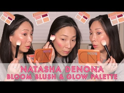 NATASHA DENONA - NEW Bloom Blush and Glow Palette - A First Look