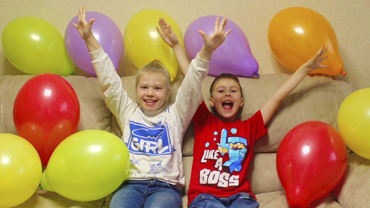 balloon challenge / ЧЕЛЛЕНДЖ ЛОПНИ ШАРИК - видео для детей #FastSergey