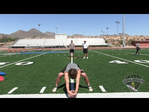 Adam Bay (Desert Ridge High School) Snapping Workout at Coach Zauner's High School  Snapping Camp