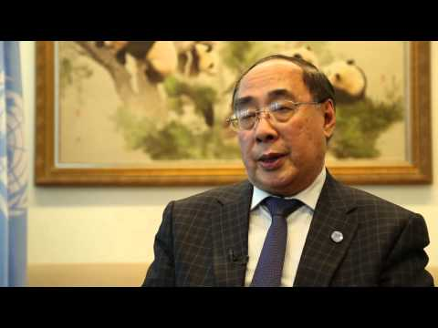Under-Secretary-General Wu Hongbo talks about progress and challenges for achieving SDGs