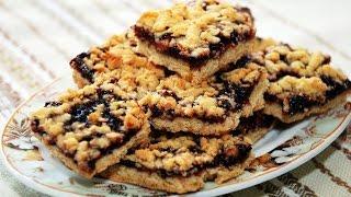 Тертый пирог с вареньем / Вкусный рецепт пирога!