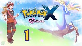 Let's Play Pokémon X [Wedlocke / German] - #1 - Auf geht's, Muffin!