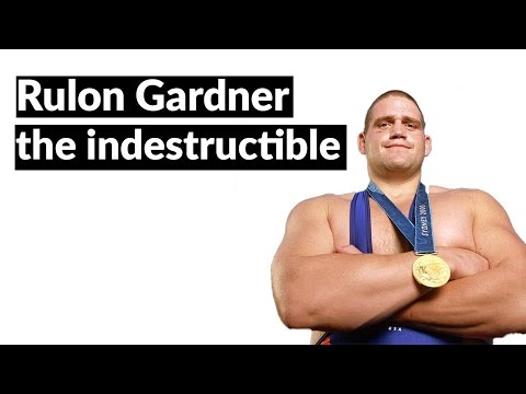 "The incredible story of the ""indestructible man"" - Rulon Gardner"