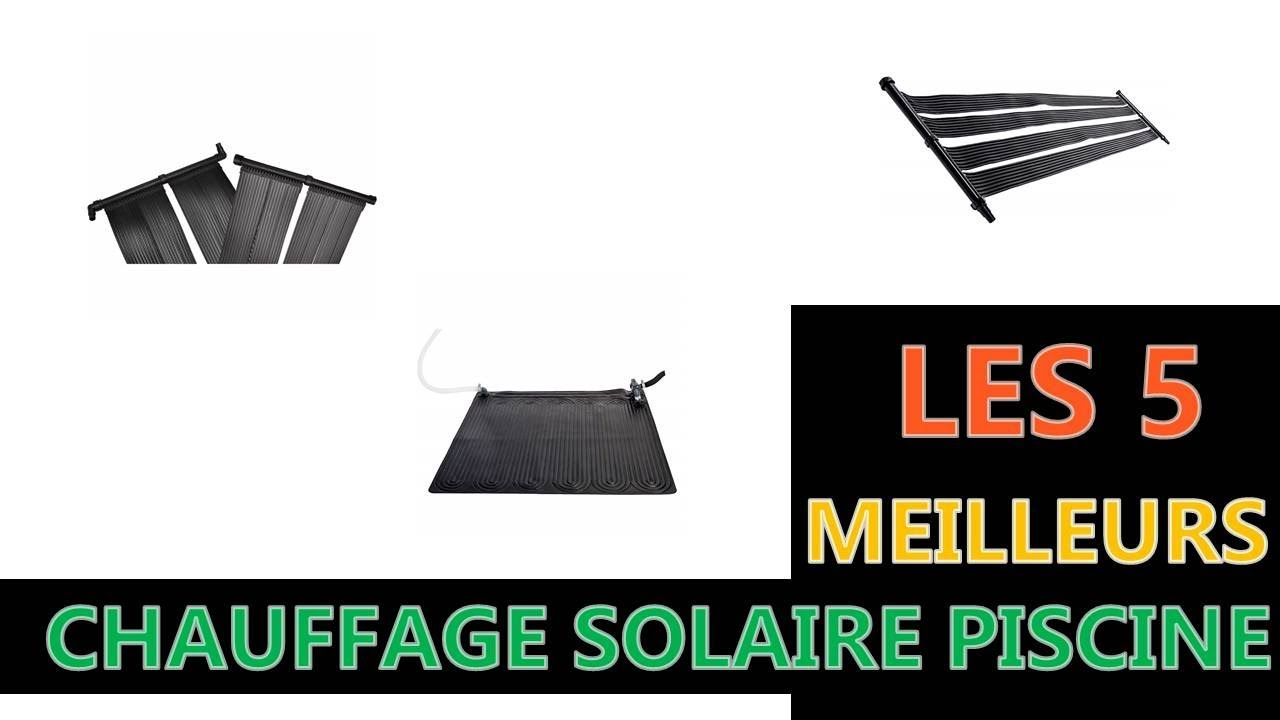 meilleure chauffage solaire piscine