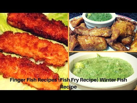 Finger Fish Recipes {Fish Fry Recipe} Winter Fish Recipe seafood recipes