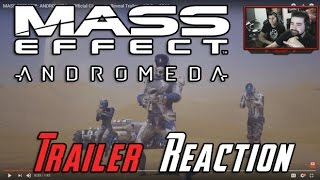 Mass Effect: Andromeda - Trailer Reaction