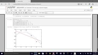 This brief tutorial demonstrates how to use numpy and scipy functions in python regress linear or polynomial that minimize the least squares dif...