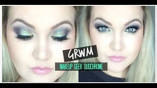 MAKEUP GEEK DUO CHROME BRIGHT LOOK | Secret Garden
