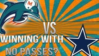 "MADDEN 25-Winning with NO PASSES? ""MADDEN NFL 25"" Dolphins Vs. Cowboys Online Gameplay RANKED"