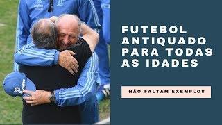 Futebol antiquado que impera no Brasil não depende da idade dos técnicos