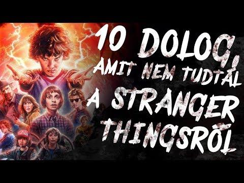 10 dolog, amit NEM tudtál a STRANGER THINGSről