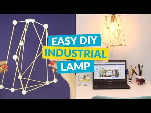 Make an High-End Industrial Lamp in Less Than a Minute
