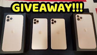 APPLE IPHONE 11 PRO MAX DOUBLE GIVEAWAY!!!