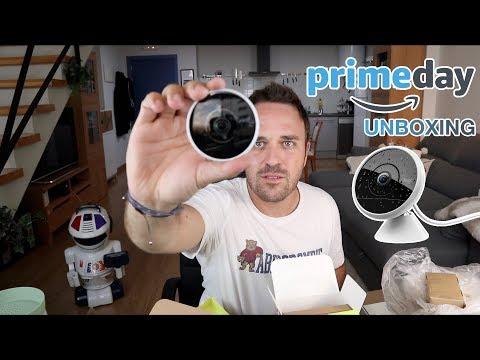 Amazon Prime Days Unboxing - Logitech Circle 2, Bosch Ergomixx... Review en Español