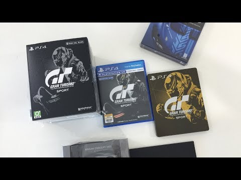 Unboxing - Gran Turismo Sport Collector Edition (Asia Edition)