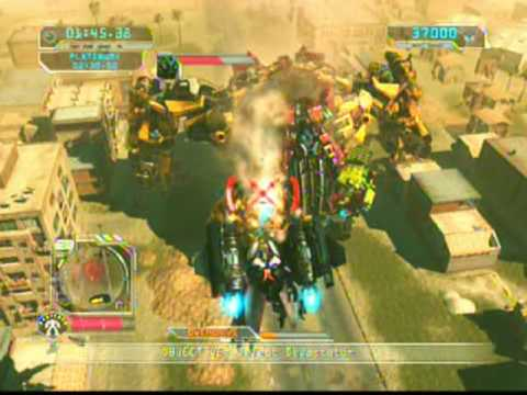 TF:RoTF PS3 SP Powered-Up Optimus vs. Devastator
