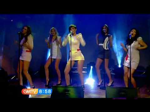 The Saturdays - Ego (GMTV - 21st December 2009)
