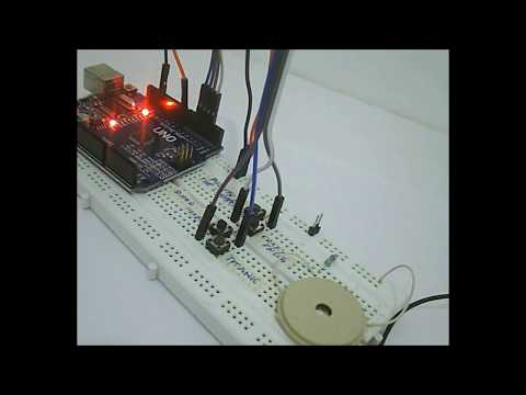 Creating Melody Using Arduino Tone () Function