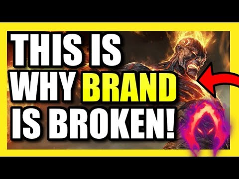 (HIGH ELO) THIS IS WHY BRAND SUPPORT IS INSANELY OP! | #1 DA