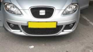 How to removal Seat Altea (XL) Front bumper