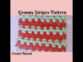 Crochet Made Easy - How to make the Granny Stripes pattern (Step by Step Tutorial) ♥ Pearl Gomez ♥