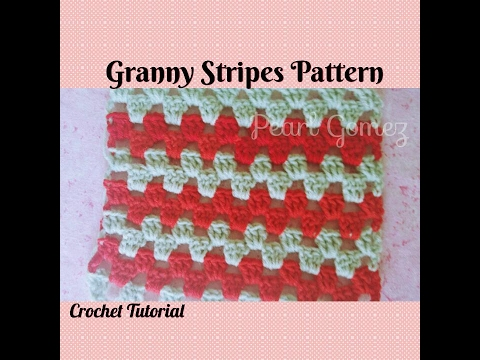 Crochet Made Easy How To Make The Granny Stripes Shawl Step By