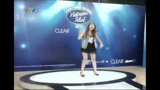 Viet nam idol 2012 - Vòng thử giọng - Thu Trang - Tập 2 - Viet nam Idol 2012