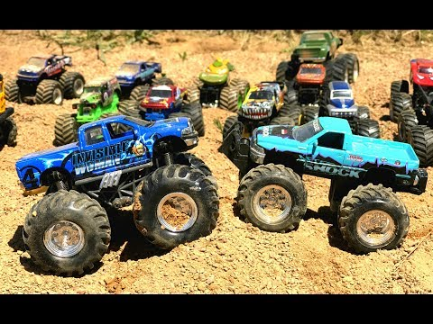 Best Educational Videos For Children - Train - Toys Shopping - Monster Truck Videos For Kids