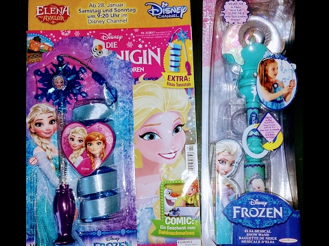 Disney Frozen Ana Elsa Musical Magic Wand Toy  with