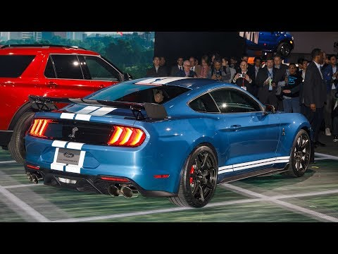 2019 Ford Mustang Shelby GT500 - NAIAS Walkaround