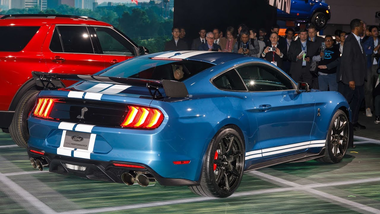 2019 Ford Mustang Shelby GT500 - NAIAS Walkaround - YouTube
