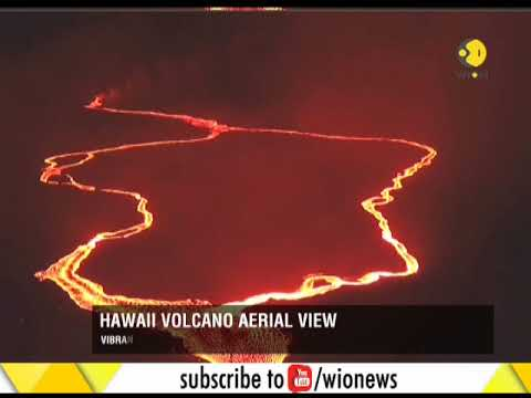 Fountains of lava continue to gush from Kilauea volcano in Hawaii