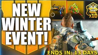 NEW BLACK OPS 4 WINTER EVENT! New Triple Play, Multiplayer & Zombies Updates