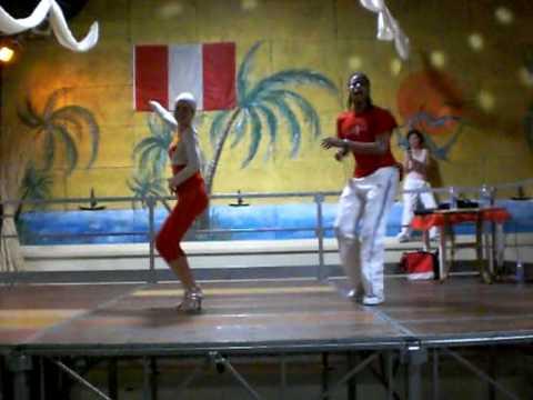 Isibizione salsa Wilmer Najarro e Maria Moreno Vil...
