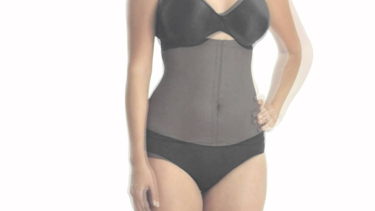 3af2bda19f3 Style 2615 - Miraclesuit® Inches Off Waist Cincher Shapewear - YouTube