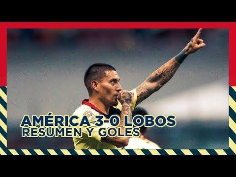 Club América 3-0 Lobos BUAP | RESUMEN - Todos los Goles | CL2019 | LigaMX | J8
