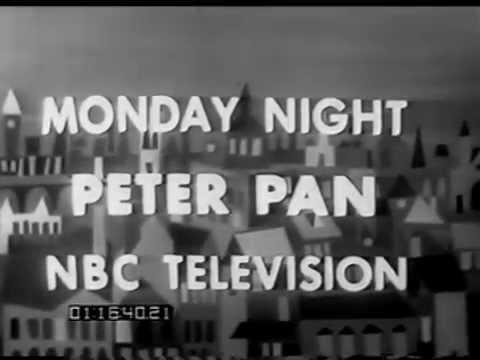 "original January 1956 NBC promo for ""Peter Pan"""