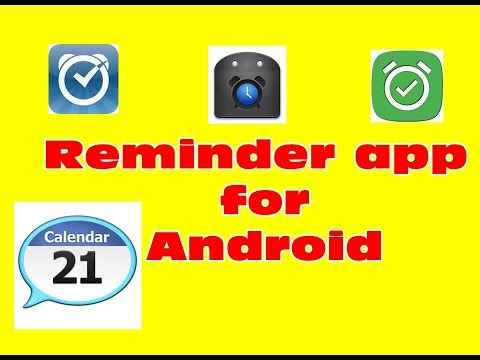 Reminder app for android tutorial - YouTube