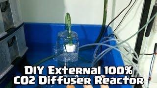 Diy External 100% Co2 Diffuser Reactor For Aquarium