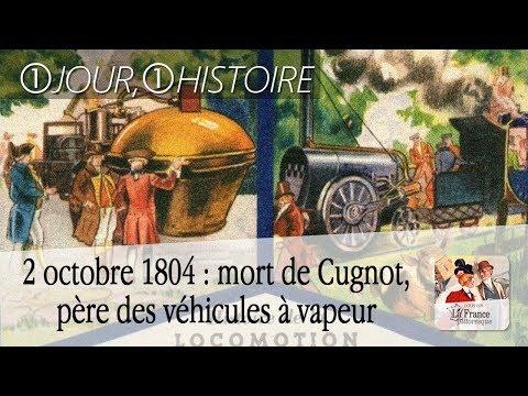 2 octobre 1804 : mort de Nicolas-Joseph Cugnot, père des véhicules à vapeur